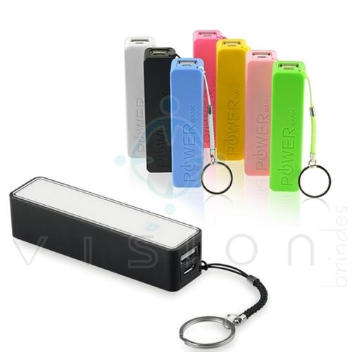 Carregador Portátil Power Bank 2600mAh