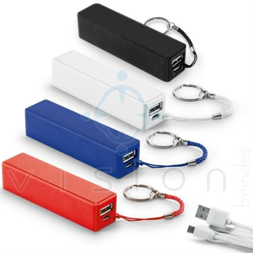 Carregador Portátil Power Bank 2200mAh.