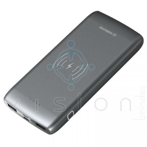 Carregador Portátil Power Bank Wireless 12000mAh