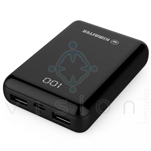Mini Carregador Portátil Power Bank 15000mAh