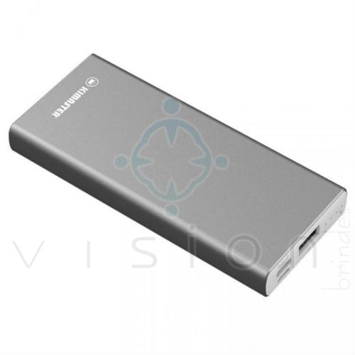 Carregador Portátil Power Bank Metal 6800mAh